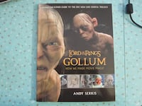 Lord of the Rings Gollum How We Made Movie Magic Book  Winnipeg