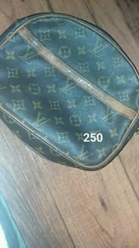 black and brown Louis Vuitton leather crossbody bag Tulsa, 74115