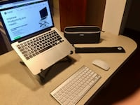 Roost Laptop Stand, Apple bluetooth keyboard & mouse set Boston