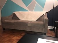 Gray fabric padded sofa chair Silver Spring, 20910