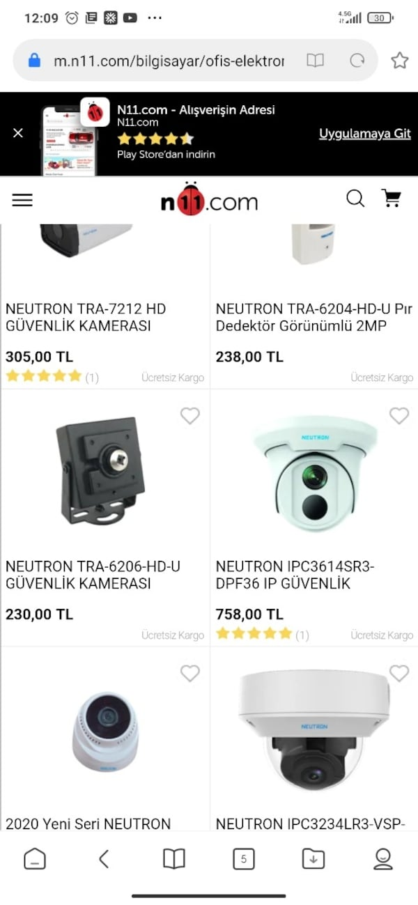 NEUTRON GÜVENLK KAMERASI 3MP VE YANGIN ALARM SİSTEMİ  4