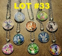 NWOT Fairy Themed Jewelry Necklace Lot - YOU GET ALL ITEMS TOGETHER FOR LISTED PRICE Rochester Hills