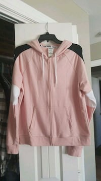 Pink zip-up hoodie Blackfoot, 83221