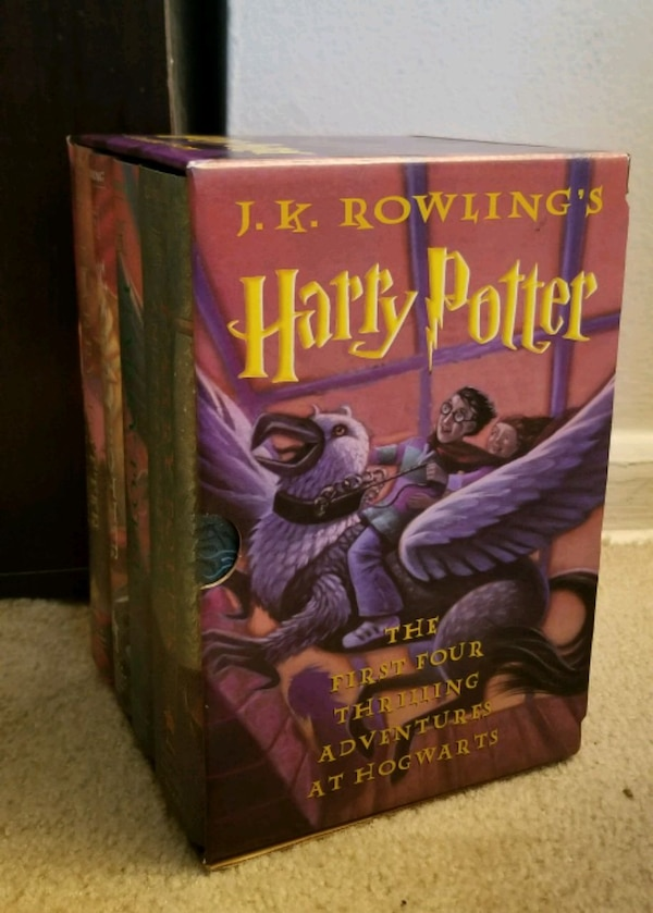 Complete Hardcover Harry Potter Collection d43a6300-529a-4812-b1d0-c66c66307e0f