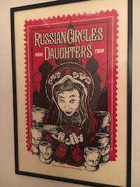 """Affisch """"Russian Circles / Daughters"""" Stockholm, 117 61"""