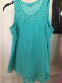 Girl's Turquoise Blouse