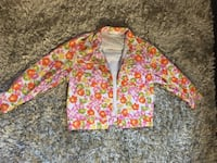 pink and white floral zip-up jacket Lauderhill, 33319