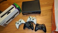 Xbox 360, kinect, 4 controllers, halo 3 West Hartford, 06119