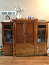 brown wooden cabinet with drawers Union, 41091