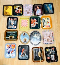 Huge Selection of Coca Cola Thin Litho Plates
