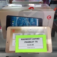Max west Astro phablet 7s Silver Spring, 20904