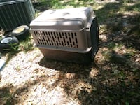 white and black pet carrier Spring Hill, 34610