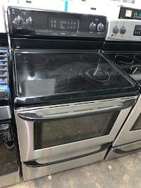 Kenmore glass top electric range working perfectly