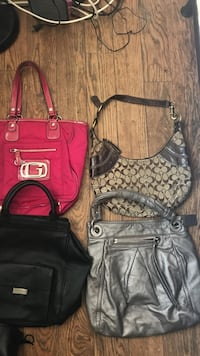 All Name Brand Purses in good condition