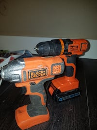 yellow and black DeWalt cordless power drill Surrey