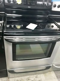 Kenmore glass top stove stainless steel in good condition