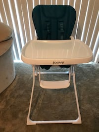 Joovy Nook Foldable High Chair - Turquoise/Teal Phoenixville, 19460