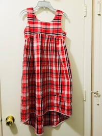 Strawberry plaid dress North Las Vegas, 89030