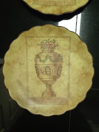 3 decorative wall decor plates $10 each or all 3 for $25