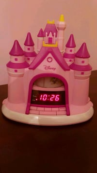 Disney Princess Alarm Clock...  Mississauga, L5W 1T1