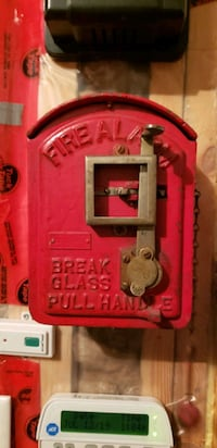 Antique fire patrol box Gatineau