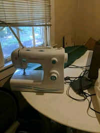 white and blue sewing machine Savannah, 31406