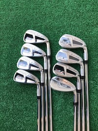 TaylorMade M6 8 Iron Set, 4 thru SW, Stiff Flex Houston, 77064