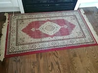 red and white area rug Brampton, L6P 2G5