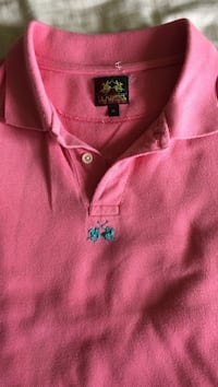 Pink la martina polo shirt - credit cards accepted Mount Prospect, 60056