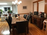 Dining Room Table Set - w/ 6 chairs-$350 excellent condition