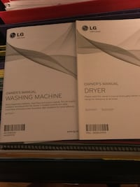 LG Washer and Dryer Cleves, 45002
