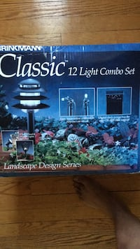 Landscape lighting brand new never been out of box.