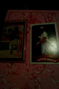 Ozzie Smith cards Warrenton