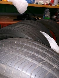 Tires - P215/60R16 all 4, less than 8000 mls. Great shape