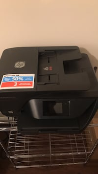 Black and gray hp desktop printer Washington, 20032