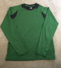 North Face Flash Dry green long sleeve shirt Arlington
