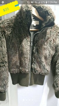 Faux Fur Bomber Jacket Costa Blanca size M *Price is Firm Toronto, M6B 3J3