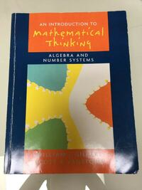 An introduction to Mathematical Thinking Toronto