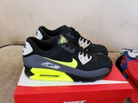 pair of black-and-green Nike Air Max North Las Vegas, 89030