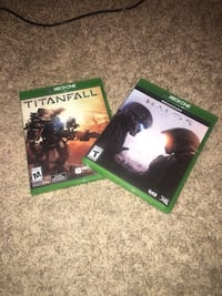 Halo and titanfall for $15  Manteca, 95337
