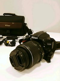 Nikon D3200 + accessories and case Chilliwack, V2R 1S3