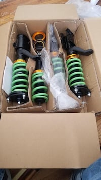 NEWLY PURCHASED COIL OVERS for Honda cars. NEW NEVER USED!!