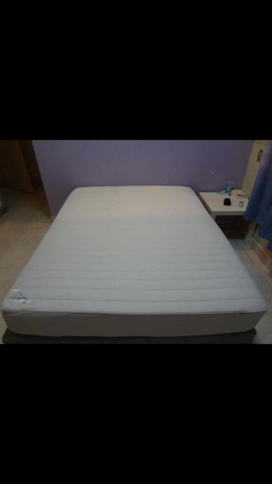 Used price lowered like new ikea queen size mattress and for Ikea queen size box spring