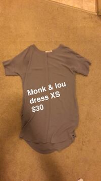 Monk and lou dress Vancouver, V5R 6C8