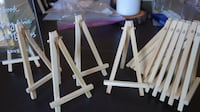 WEDDING Wooden stands 6 inches - wedding, decor, party - $8 PASADENA