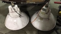 Shop Lights, total of 9. Have extra bulbs.  595 mi
