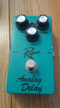 Delay Guitar Pedal by Rouge MONTREAL