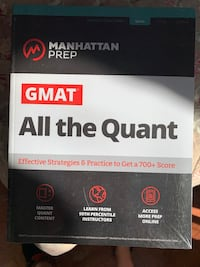 GMAT Study Books Set (Manhattan Prep) - NEW and in packaging 2020