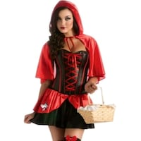 women's red and black dress Hedgesville, 25427