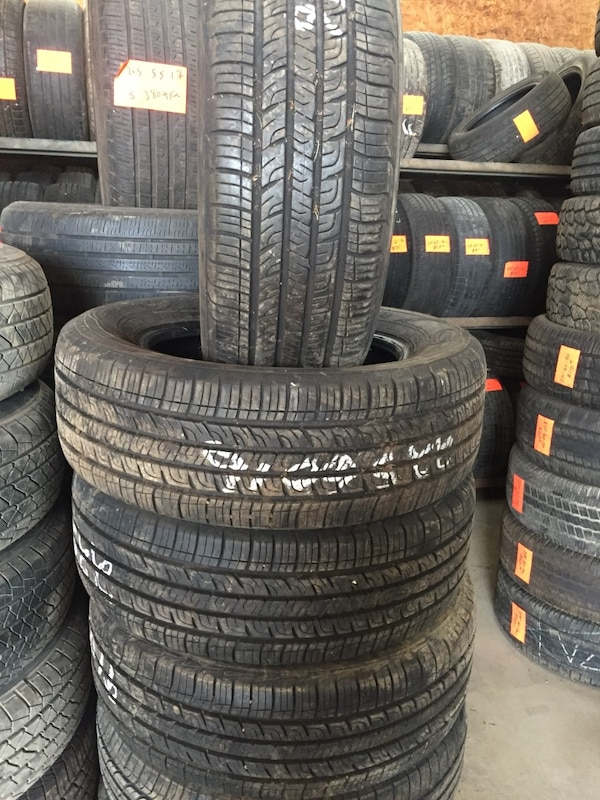 Used Tires Columbus Ohio >> Set Of Four Tires 225 60 16